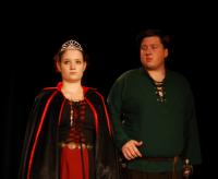 La Reine et le Chasseur